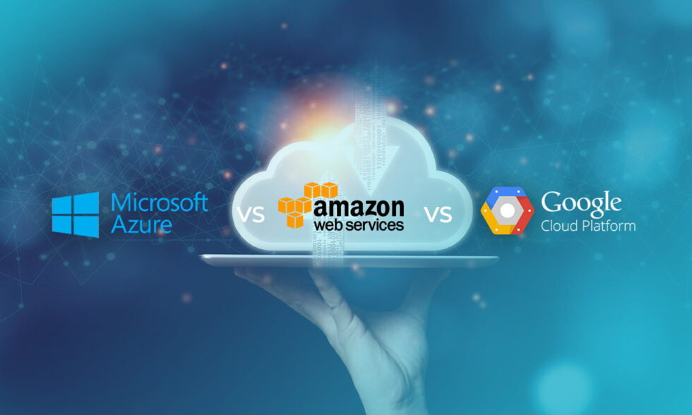 Blog post cover: AWS, Azure and Google Cloud – which cloud service to choose?