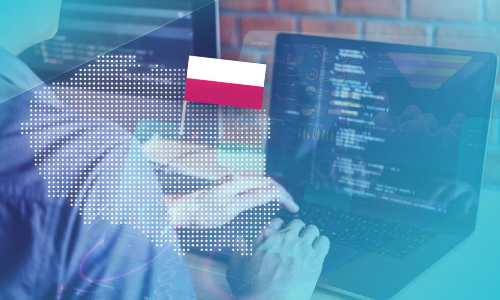 blog post cover outsource software in Poland