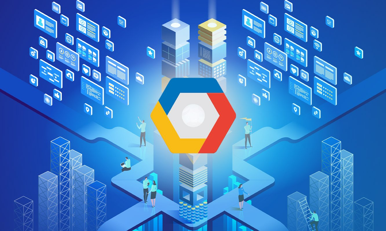 blog post cover - Open source databases and GCP