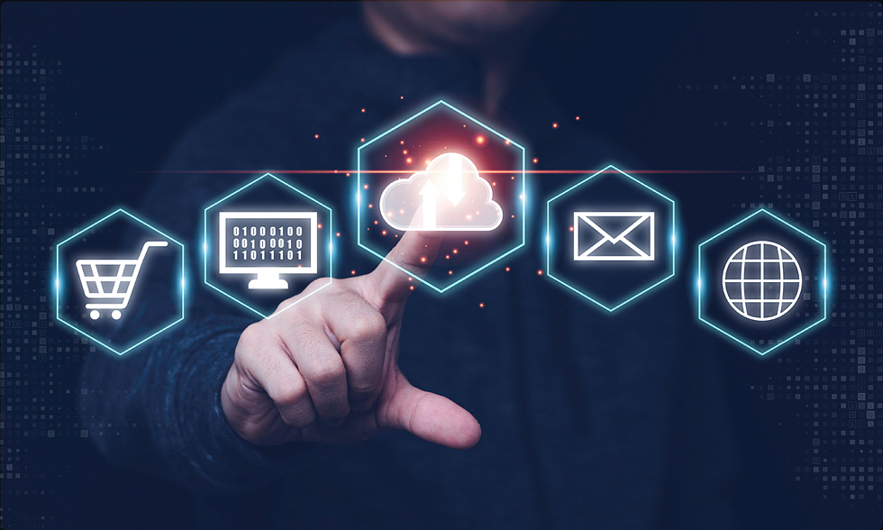 blog post cover: Cloud Architecture - how we develop applications in the 21st century